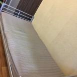 Продам кровать с матрасов б/у икеа 100 на 214см, Новосибирск