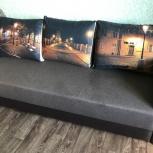 Продам новый двухспальный диван, Новосибирск