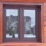 Кошированные окна для загородных домов и коттеджей, Новосибирск