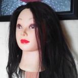 Продам голову-манекен для стрижки., Новосибирск