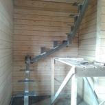 Лестницы деревянные, бетонные, на металлическом каркасе, Новосибирск
