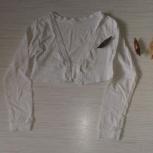 Продам жилетку белую, Новосибирск