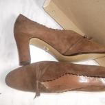 Туфли новые, замшевые, Германия, Новосибирск