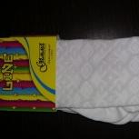 Продам новые ажурные колготки белого цвета размер 122-128, Новосибирск
