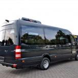 Заказ микроавтобуса 7-10 мест, 14-17 мест и 20 мест, Новосибирск