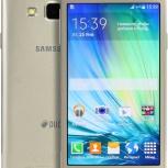 Телефон Samsung A3 SM-A300F 16Gb GOLD, Новосибирск