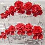 Свадебные бокалы с оформлением  ручной работы, Новосибирск