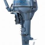 Корейский подвесной лодочный мотор mikatsu M9.9FHS 2т. Гарантия 5 лет, Новосибирск