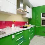 Кухня Система глянец зеленый (м.пог.), Новосибирск