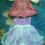 продам два красивых платья на малышку до года!, Новосибирск