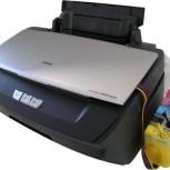 Продам принтер Epson Stylus Photo R270 с СНПЧ, Новосибирск