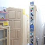 Дверь деревянная производство из массива сосна цена за (м2), Новосибирск
