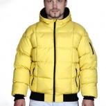 Зимняя мужская куртка очень теплая и стильная новая, Новосибирск