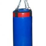 """Боксерский мешок """"Русский бокс"""" 36 кг L-90см d-30см BM03, Новосибирск"""
