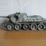 Модель танка су-100 от Звезды 1/35, Новосибирск