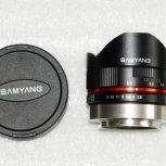 объектив Samyang 8mm f2.8 fisheye Fujifilm X-mount, Новосибирск