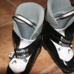 Продам подростковые горнолыжные ботинки, Новосибирск