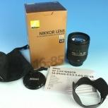 Объектив Nikon AF-S DX 16-85mm F3.5-5.6 G ED VR Nikkor Новый, Новосибирск