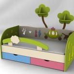 Экологичные веселые детские кровати из натурального дерева под заказ!, Новосибирск