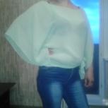 Модная летняя блузка, топик в подарок, Новосибирск