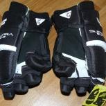 Новые юниорские хоккейные перчатки Graf G5, Новосибирск