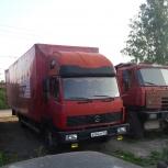 грузоперевозки большим мебельным фургоном 42куб.м., Новосибирск