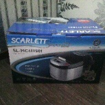 Мультиварка Scarlett SL-MC411S01, Новосибирск