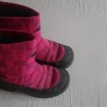 Зимние сапожки для девочки kuoma, Новосибирск