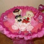 Букет на свадьбу из игрушек, Новосибирск