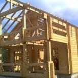 Строительство отделка домов бань из дерева, Новосибирск