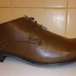 Новые мужские кожаные туфли дерби (asos), Новосибирск