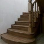 Деревянные лестницы от производителя под заказ, Новосибирск