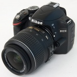 фотоаппарат Nikon D3200 с объективом, Новосибирск