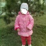 Продам хорошую курточку на 1-2 года на девочку весна-осень, Новосибирск