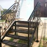 Лестницы из металла, ограждения, Новосибирск