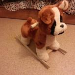 Продам детскую собаку-качалку, Новосибирск