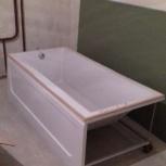 новая акриловая ванна, Новосибирск