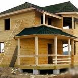 Качественно и с гарантией построим жилой дом, дачу, баню., Новосибирск