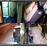 Видеонаблюдение через интернет, монтаж видеонаблюдения, Новосибирск