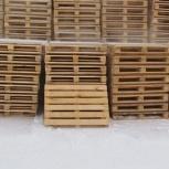 Поддоны деревянные новые 800х1200мм, Новосибирск