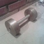 Гантель 1 шт (2 блина) 8,2 кг, Новосибирск