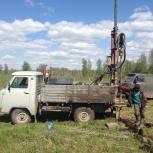 Скважины на воду. Фильтровые и скальный грунт (сталь и пластик), Новосибирск
