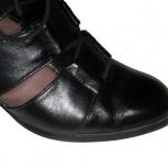 Новые ботинки, привезены из Гонконга, натуральная кожа, 23,5 см, Новосибирск