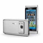 Продам смартфон Nokia N 8-00 silver, Новосибирск
