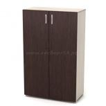 Шкаф для бумаг средний закрытый 700*400*1160*16, Новосибирск