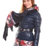 Пальто женское демисезонное + шарф - все размеры, цвет красный, Новосибирск