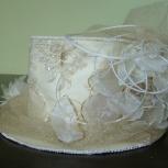 свадебная шляпка, Новосибирск