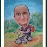 Шаржи и портреты по фото, Новосибирск