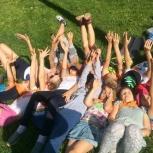 Летняя площадка для младших школьников, летний лагерь, Новосибирск
