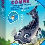 """Корм для рыб Рыбята """"Сомик"""", Новосибирск"""
